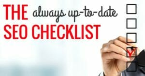 How to Optimize Content for SEO With a Quick Checklist