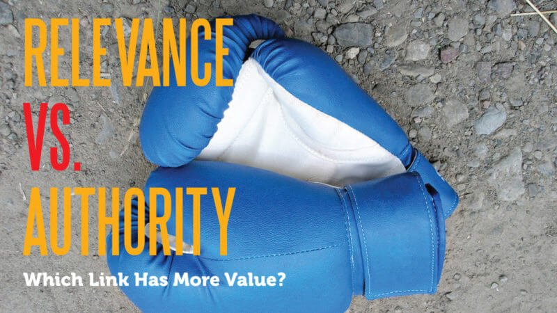 """Relevance or Authority? Perhaps the Answer Should be """"Both"""""""